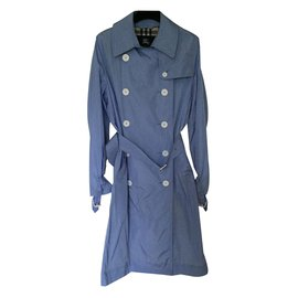 Burberry-nylon trench-Blue