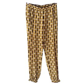 Fendi-Pantalon-Multicolore