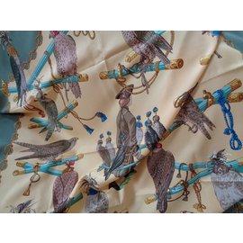 Hermès-les oiseaux du roy-Multicolore