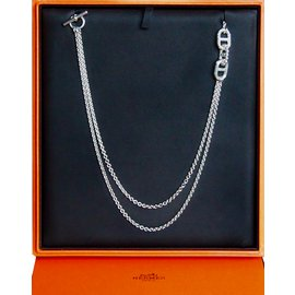 Hermès-Chaine d'Ancre Parade-Silvery