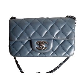 Chanel-Timeless miniflap-Blue
