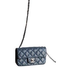 Chanel-Timeless miniflap-Bleu