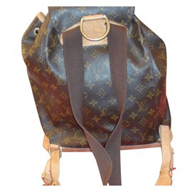 Louis Vuitton-Montsouris GM-Marron