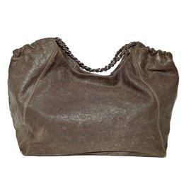 Chanel-Shopping bag-Marron