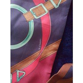 Hermès-Foulard-Multicolore