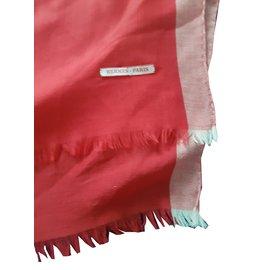 Hermès-Foulard-Rouge