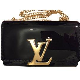 Louis Vuitton-Pochette LOUISE-Noir