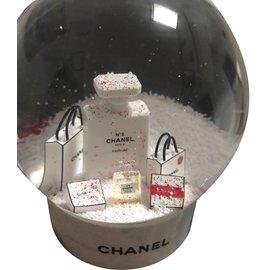 Chanel-Petite maroquinerie-Blanc