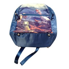 Paul Smith-Bagpack-Blue