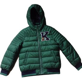 Ikks-Boy Coats Outerwear-Green