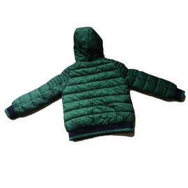 Ikks-Blousons, manteaux garçon-Vert