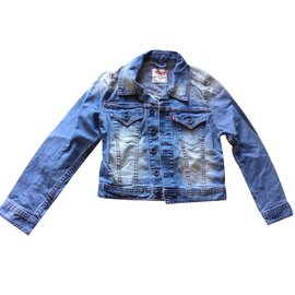 Levi's-Blouson, manteaux garçon-Bleu