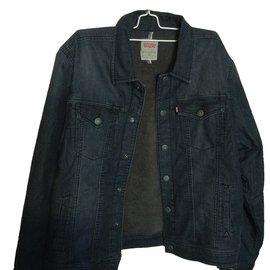Levi's-Blouson, manteau garçon-Noir