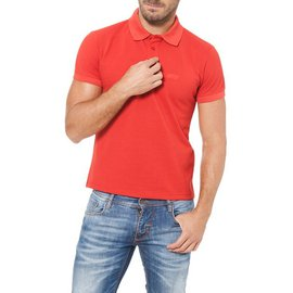 Armani Jeans-ARMANI JEANS MEN'S NWT RED POLO SHIRT-Red