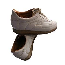 Hermès-Baskets-Blanc