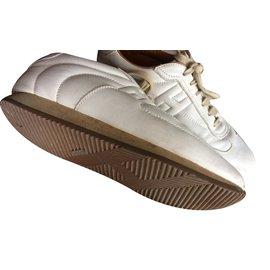 Hermès-Sneakers-White