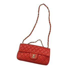 Chanel-Sac à main-Rouge