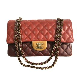 Chanel-Chanel Timeless 25 tricolor GHW-Multiple colors
