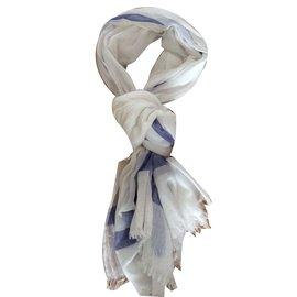 Hermès-Foulard-Blanc