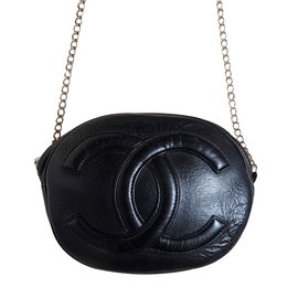 Chanel-Sac vintage-Noir