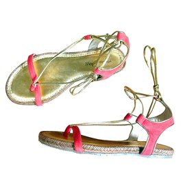 Mellow Yellow-Sandals-Coral