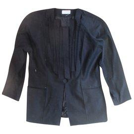 Emmanuelle Khanh-Coat-Black