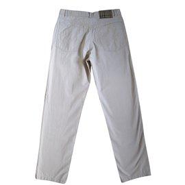 Burberry-Pant, legging-Beige