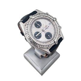 Breitling-Chronomat-Argenté
