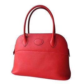 Hermès-Bolide 27-Rouge