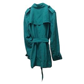Burberry-Trench coat Kensignton-Blue,Green
