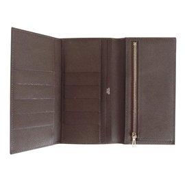 Hermès-Wallet-Brown