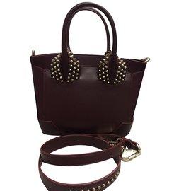 design intemporel 149ee 968d7 TOP Paloma Small Black Calfskin Handbags Christian Louboutin ...