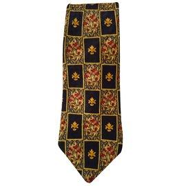 Christian Dior-Cravate-Multicolore