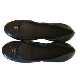 Louis Vuitton-Ballerines-Bleu