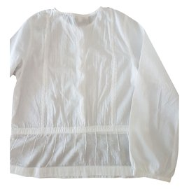 Chloé-Top Tees-White