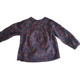 Massimo Dutti-blouse fille-Rouge,Violet