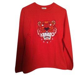 Kenzo-tete de tigre-Rouge