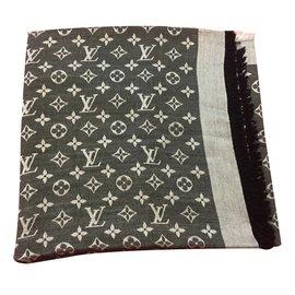 Louis Vuitton-Monogramm châle-Noir