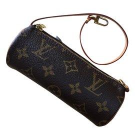 Louis Vuitton-Pochette Papillon-Marron