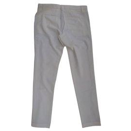 Bel Air-Pantalon-Blanc
