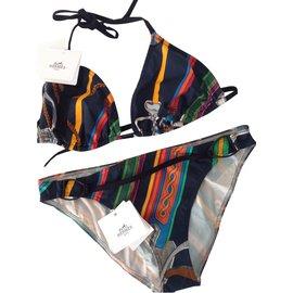 Hermès-Vêtements de bain-Multicolore