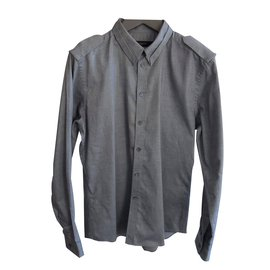 Givenchy-Chemise-Gris