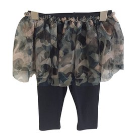 Jean Paul Gaultier-Pantalon Jupe Jerzy-Bleu