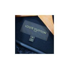Louis Vuitton-Manteau-Noir