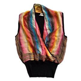 Hermès-Top-Multicolore