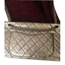 Chanel-Sacs à main-Argenté