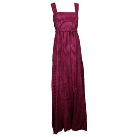 Louis Vuitton-Robe-Noir,Rose