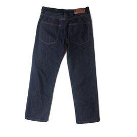 Marni-Pantalon-Noir,Bleu