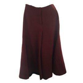 Céline-Pantalon culotte-Bordeaux