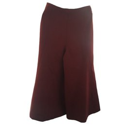 Céline-Culotte trousers-Dark red